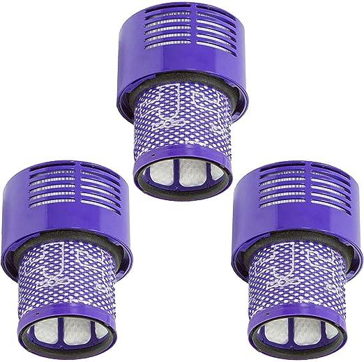 xy 2 filtros de Repuesto para aspiradora Dyson V10, SV12 Cyclone ...