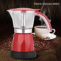 Cafetera eléctrica,300ml / 6 tazas 480W Aleación