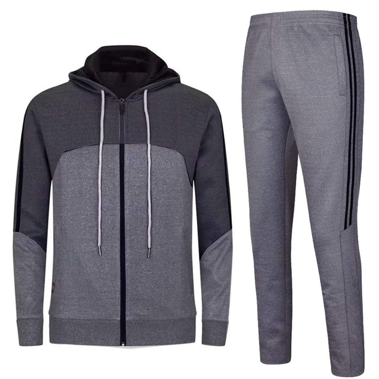 The small cat Gym Wear Sport Suit Men Winter Training Fitness Sportswear Hoodies Sports Track Suit