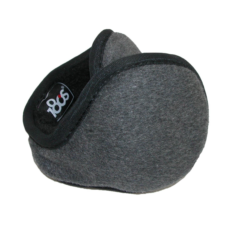 180s Chesterfield Wool Wrap Around Earmuffs Black