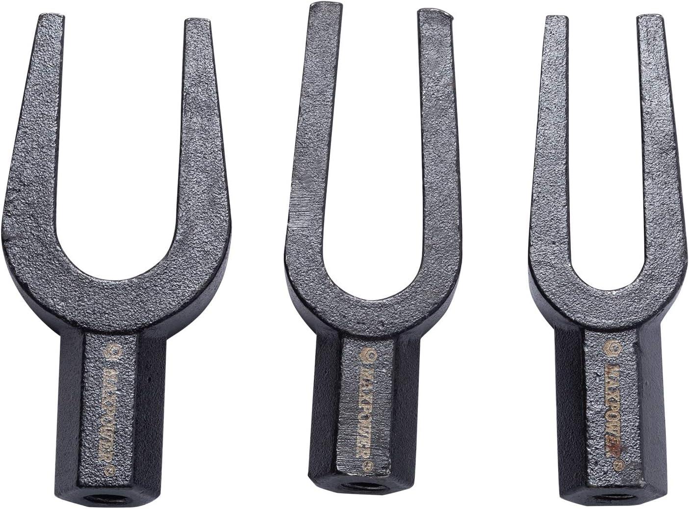 MAXPOWER 5-teiliges Trenngabel Set f/ür Kugelk/öpfe Abzieher manuell oder pneumatisch