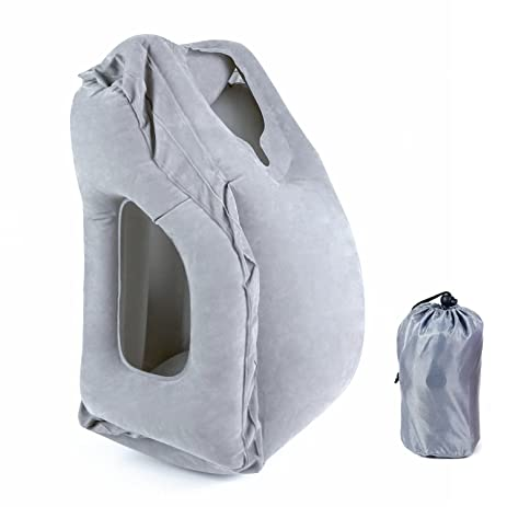 office nap pillow. Travel Pillow Inflatable Air Pillows Multifunction Portable Head Neck Rest Office Nap For Airplane R