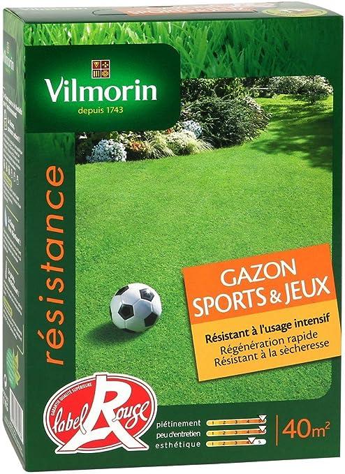 Vilmorin 4471553 - Juegos de jardín y Caja de 1kg Deportes: Amazon.es: Jardín