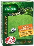 Vilmorin 4471553 Gazon Sports et Jeux Boîte de 1 kg
