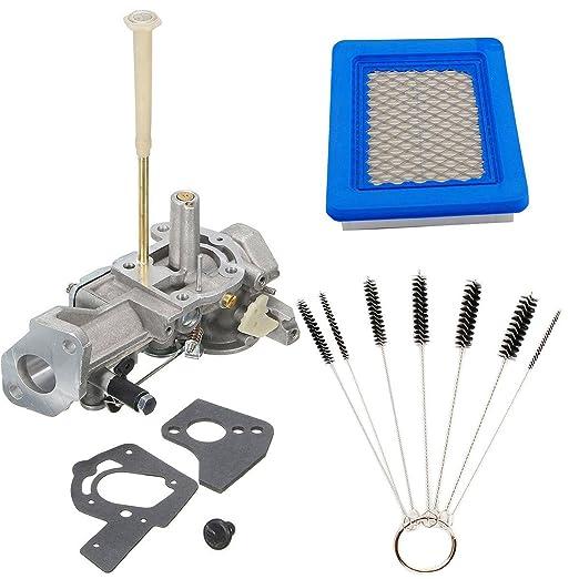 Podoy 498298 carburador con juego de juntas 491588 Filtro de aire ...