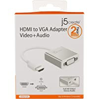 J5Create JDA213S HDMI to VGA Video Adapter