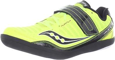 701e03239fd24 Saucony Men's Unleash Sd Throwing Shoe,Citron/Black,6 M US: Amazon ...