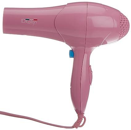 Secador de Pelo, Color Rosa Italian Design