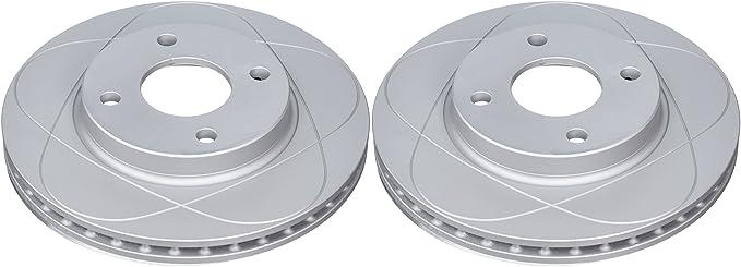 Set de 2 Ate 24.0322-0151.1 Rotores de Discos de Frenos