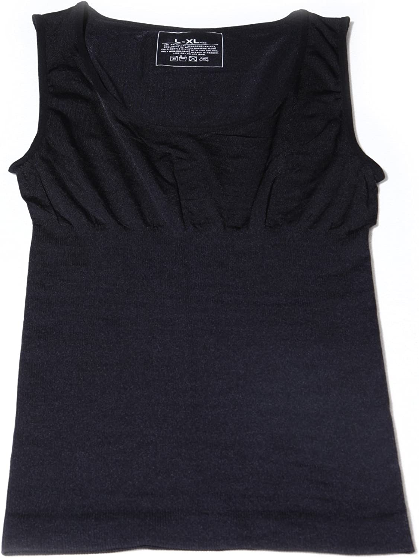 SurePromise Mens Firm Control Slimming Body Shaper Shaping Vest Undershirt