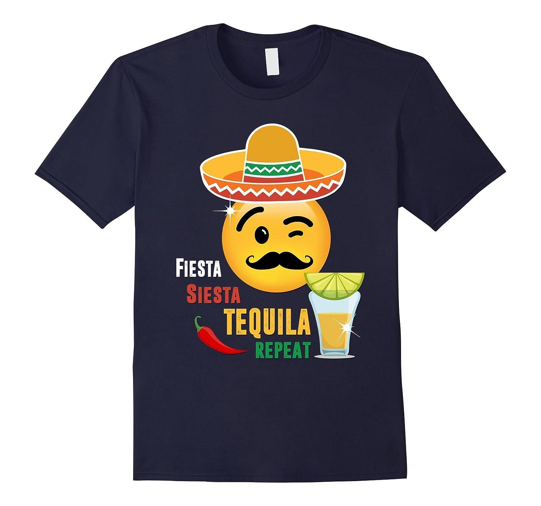 Fiesta siesta tequila repeat Shirt-CD