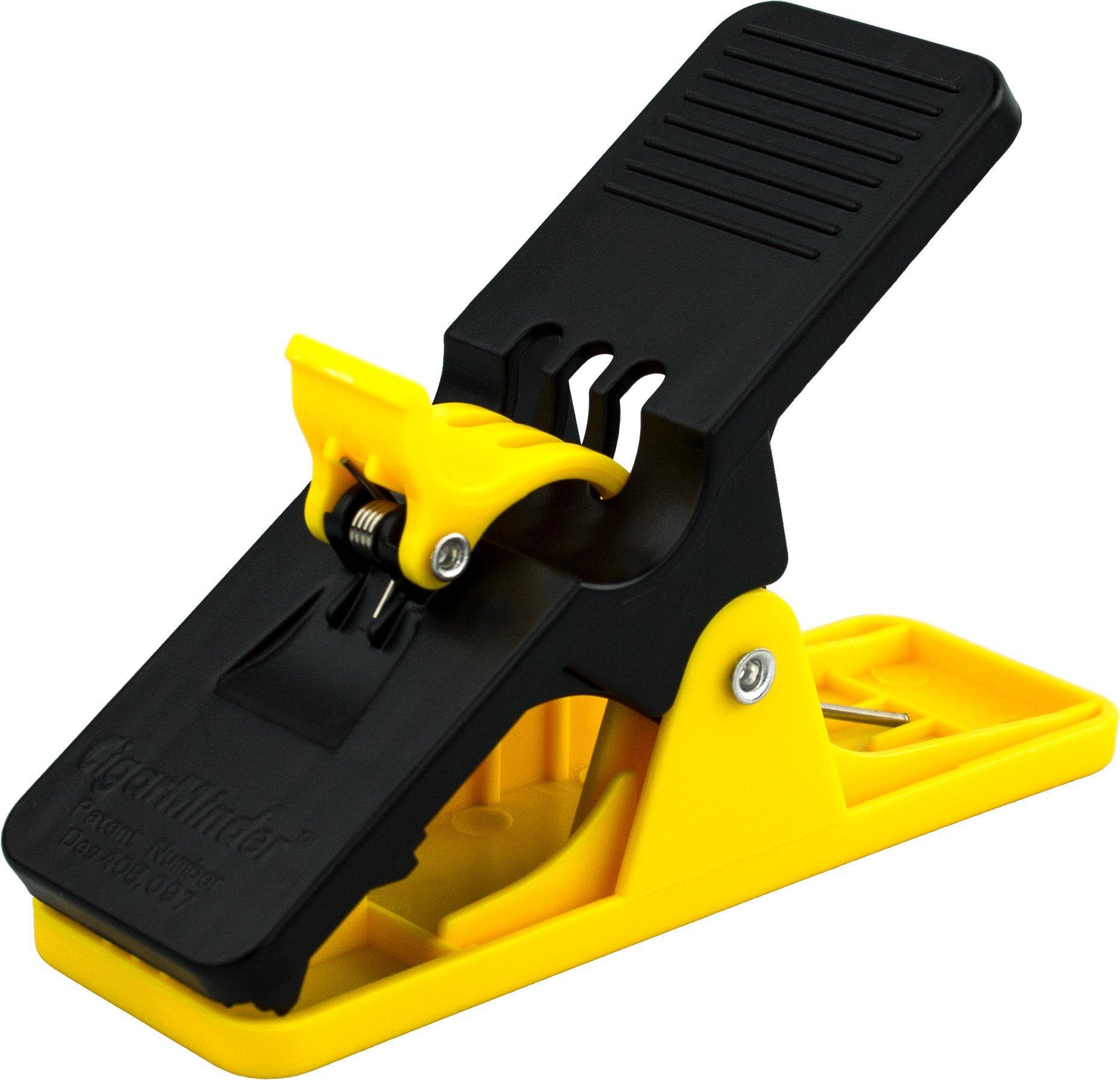 Cigar Minder Clip -  All Purpose Cigar Holder (Yellow)