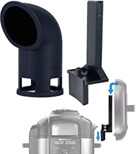 The Steam Boss Foodi Accessory Bundle - Steam Diverter and Pressure Lid Holder Compatible with Ninja Foodi pressure cookers. (DOES NOT FIT THE 5 QT OP101 MODEL)
