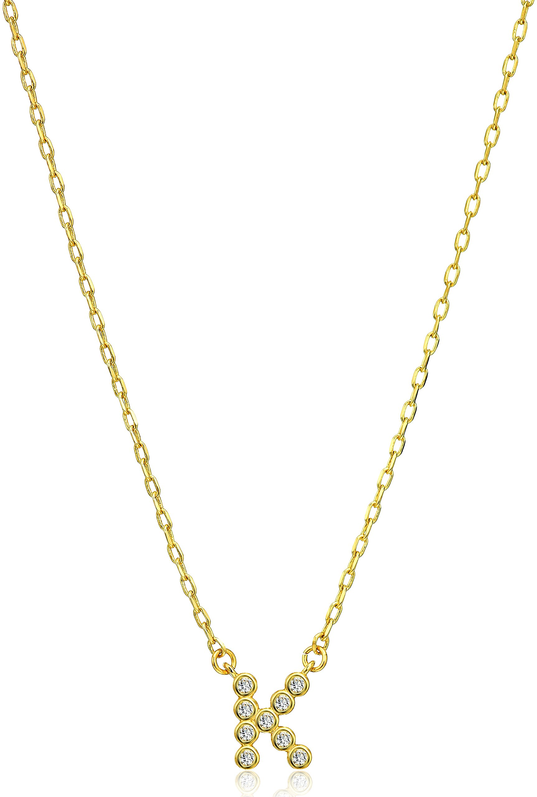 Kate Spade New York One in A Million Stone K Pendant Necklace