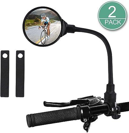 Universal 360° Handlebar Glass Rear View Mirror for Road Bike Bicycle