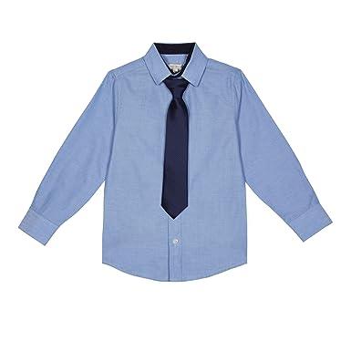 78df8fec9 RJR.John Rocha Kids Boys  Light Blue Oxford Shirt with A Tie  RJR ...