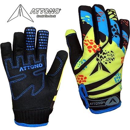 klassische Passform Steckdose online sehr bekannt ATTONO Kinder Mountainbike Handschuhe Gel Fahrrad Warme ...
