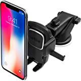 iOttie Easy One Touch 4 Dashboard & Windshield Car Phone Mount Holder for iPhone X 8 Plus 7 6s SE Samsung Galaxy S9 S8 Edge S7 S6 Note 8 & other Smartphone