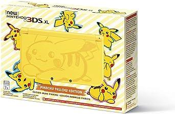 Console 3ds Xl Pikachu Amarelo 4gb