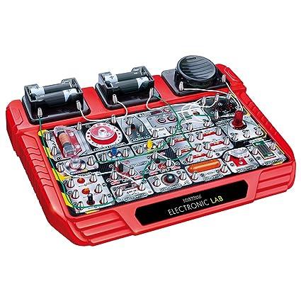 Juguetronica Electronic Lab Kit De Electronica Para Ninos 39