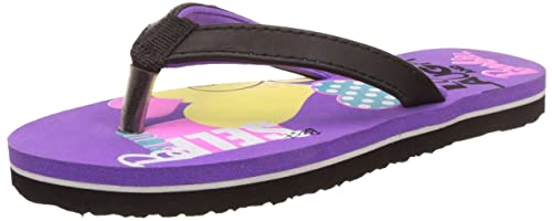 cdc501910a77 Barbie Girl s Purple Flip-Flops and House Slippers - 11 Kids UK India (