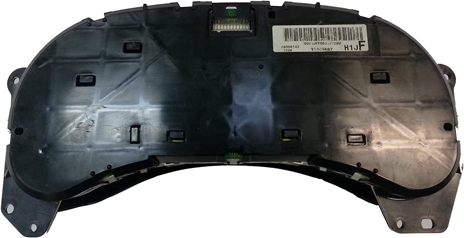 Chevy Avalanche Chevrolet Dashboard Instrument Cluster Repair Service