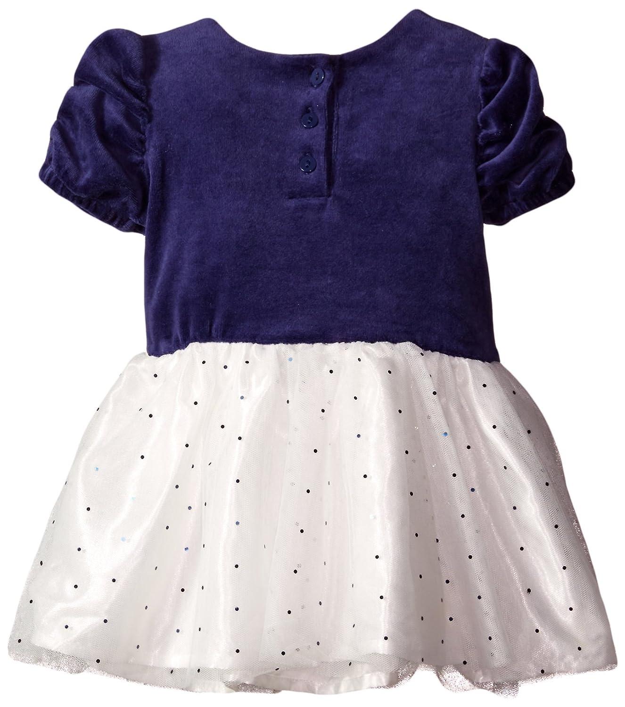 Amazon Disney Baby Girls Minnie Mouse Velour Dress with Glitter