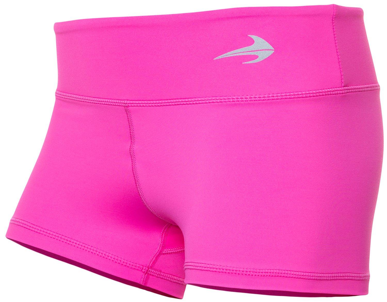 cfeacb09c6 Galleon - CompressionZ Women's Compression Shorts (Pink - M) - Running,  Fitness, Yoga, Swim, Bike