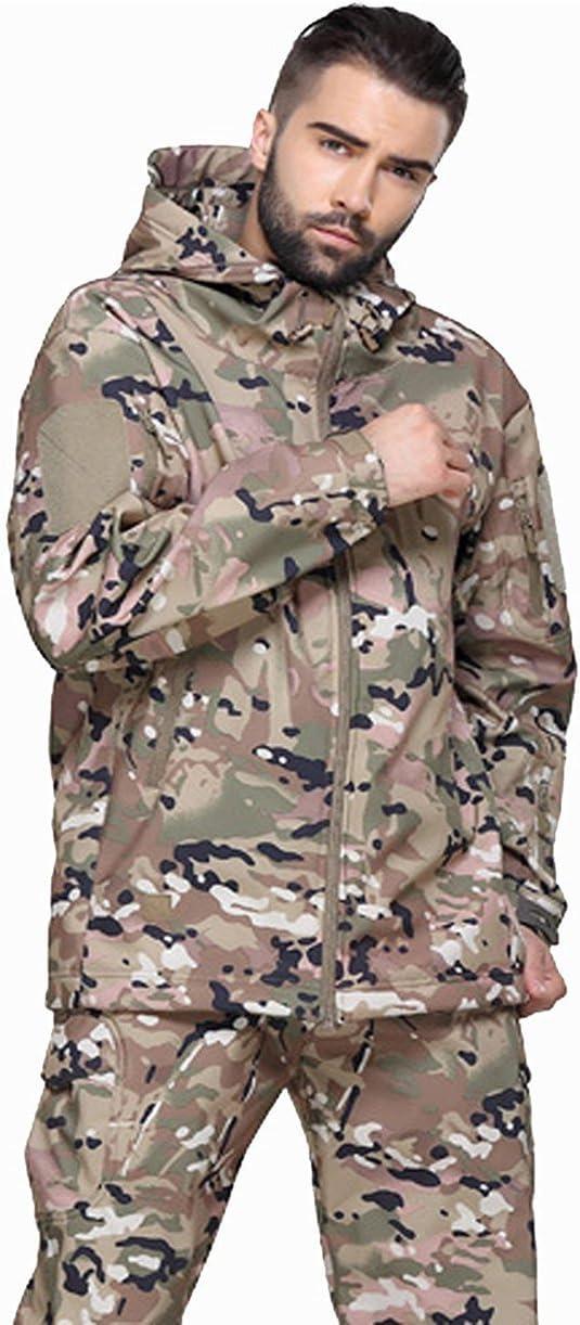 atmungsaktiv wasserdicht Winddicht Camouflage Softshell Mike