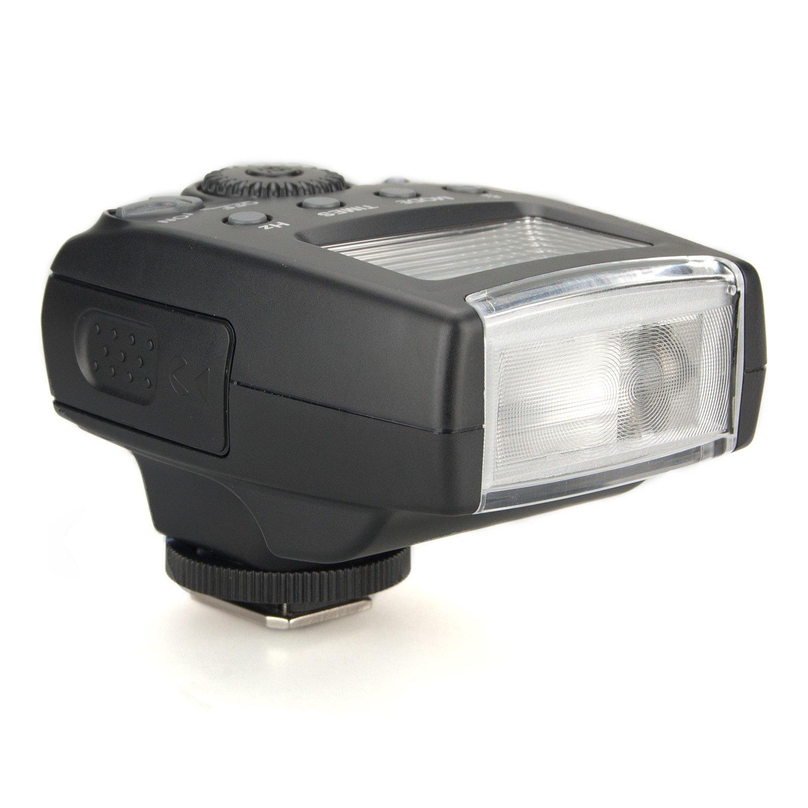 MeiKe MK-300 MK300 LCD i-TTL TTL Speedlite Flash Light w/ Mini USB Interface on Nikon