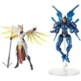 Hasbro Overwatch Ultimates Series Pharah and Mercy Dual Pack 6-Inch-Scale Collectible Action Figures with Accessories – Blizz