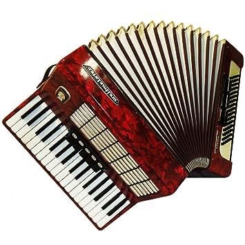 Weltmeister Stella, 80 graves, fabricado en Alemania, originales teclado acordeón, 741,