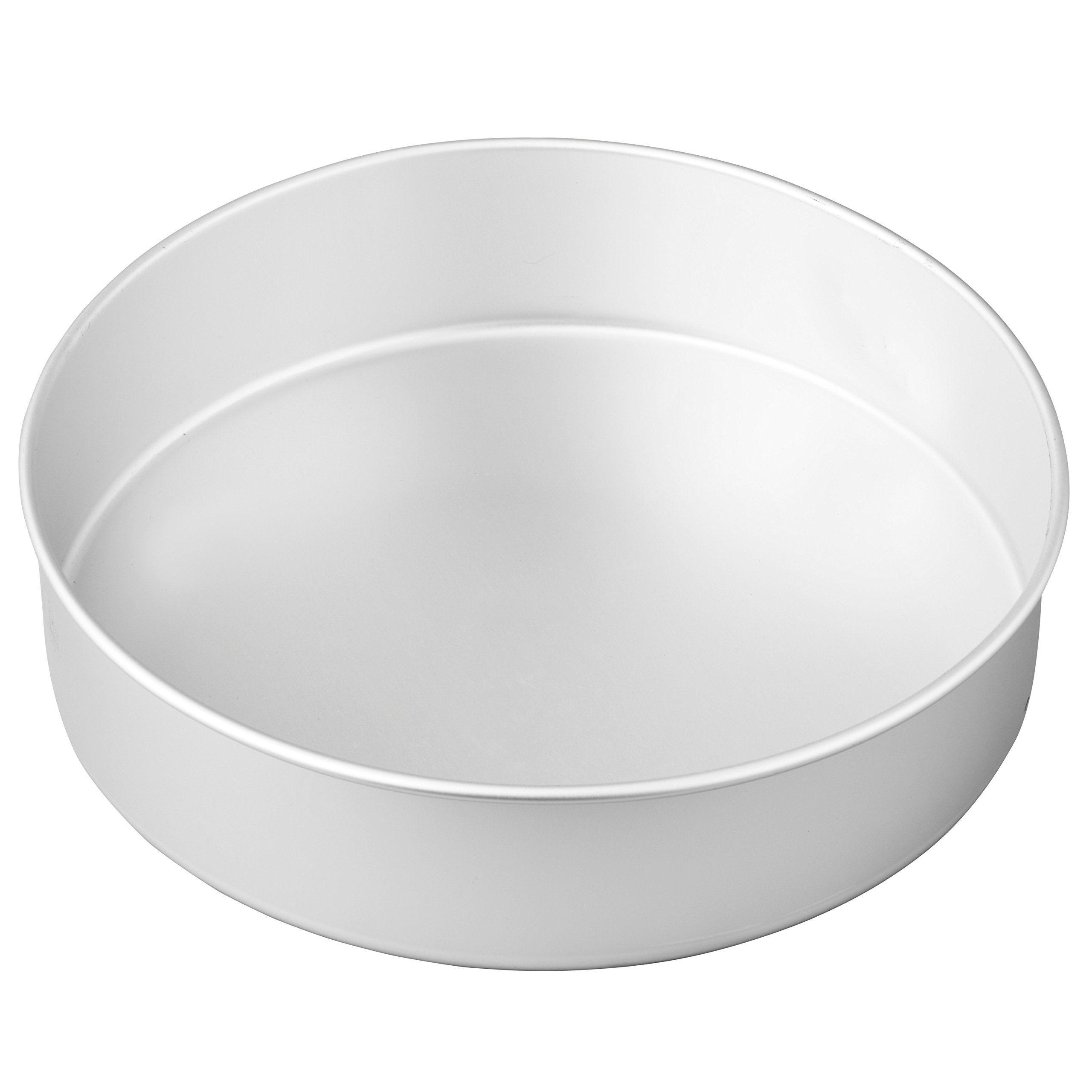 Wilton Round Cake Pan, Even-Heating for Great Baking Results, Aluminum, 3 inch x 12 inch by Wilton