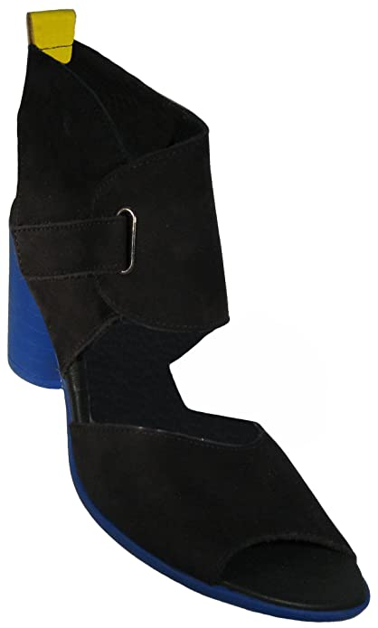Arche Women's Fuebus Noir/Cedrat Sandal