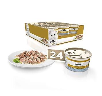 Purina Gourmet Gold comida para gatos en Salsa Guiso a la Cazuela 24 x 85 g: Amazon.es: Productos para mascotas