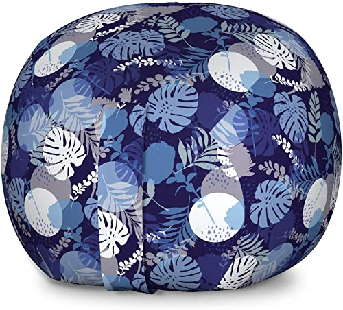 Lunarable Tropical Storage Toy Bag Chair
