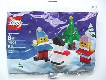 LEGO Estacional: Muñeco De Nieve Establecer 40008 (Bolsas ...
