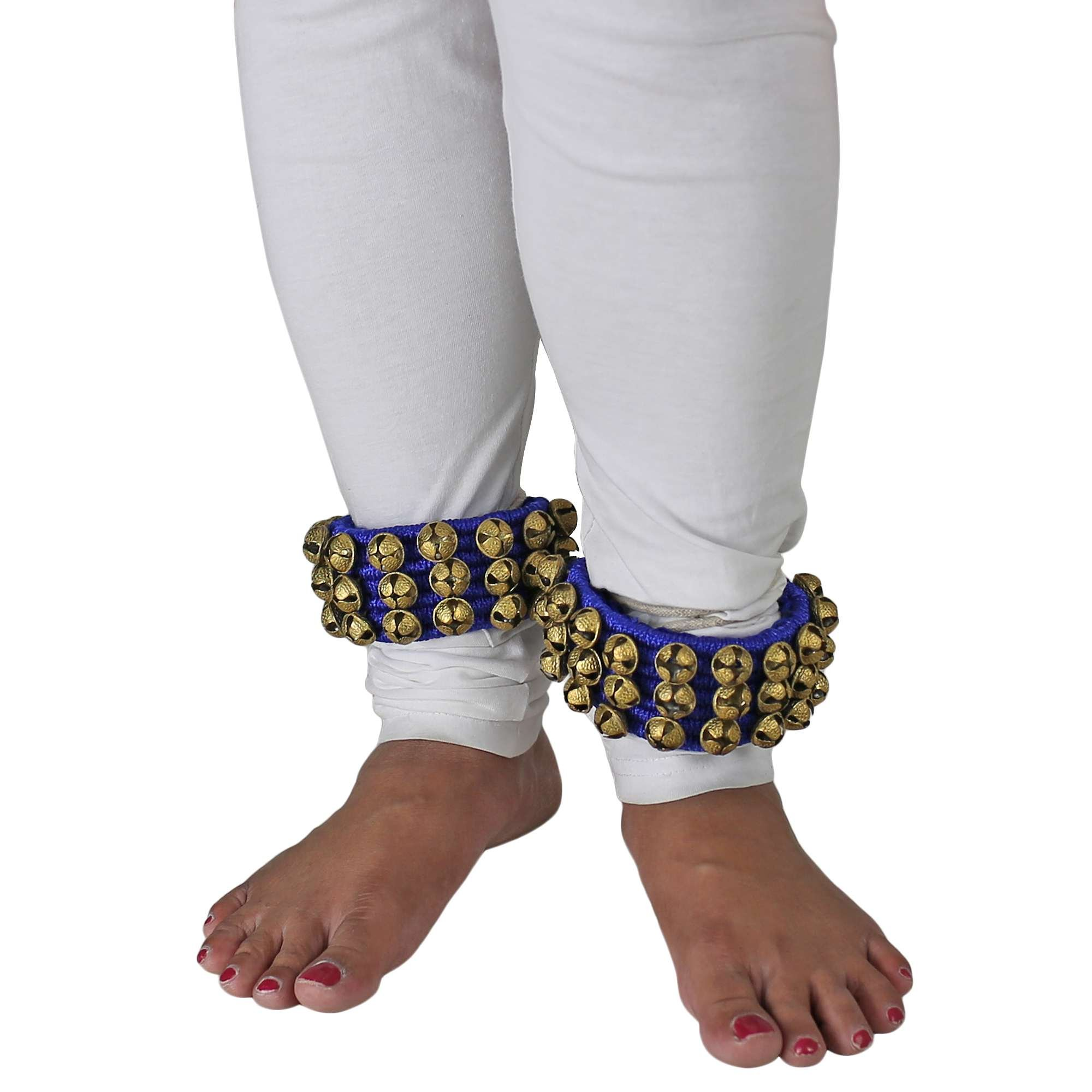 ShalinIndia Ghungroo Indian Classical Dancers Anklet Musical Instrument by ShalinIndia