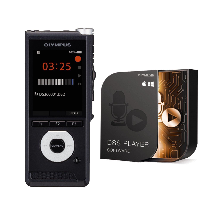 Olympus DS-2600 - Kit con tarjeta flash y dictáfono (Quality ...