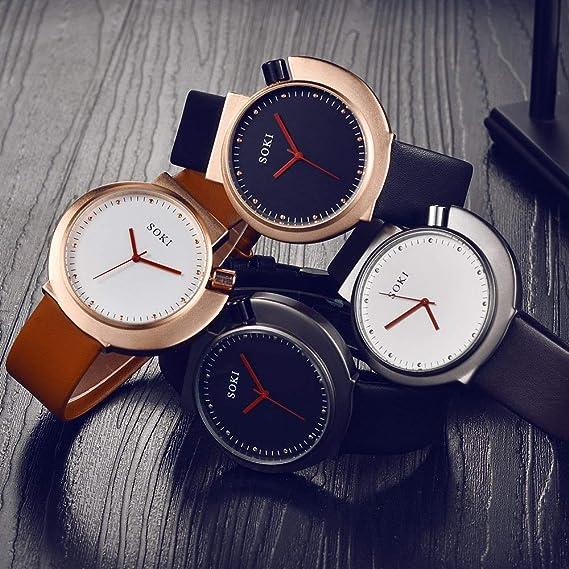 Tuzech Relojes Hombres Lujo Marca Ulzzang Deportes Pareja Relojes: Amazon.es: Relojes