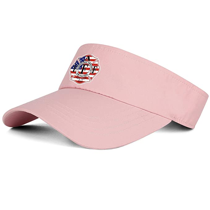 the latest new high quality presenting Amazon.com: IAFF Decal American Flagpink Men's/Women's Top ...