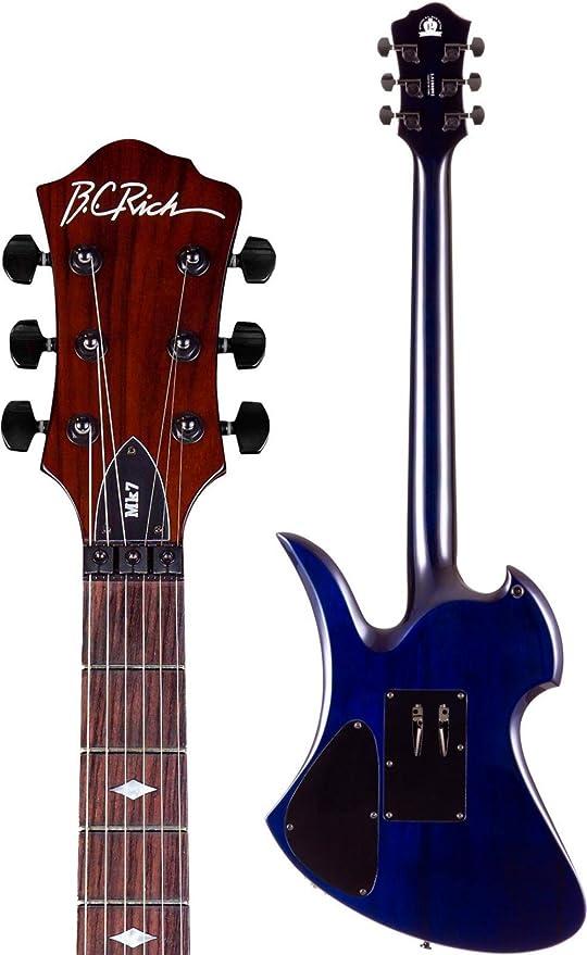 B.C. ricos Mockingbird Set cuello con Floyd Rose Guitarra eléctrica: Amazon.es: Instrumentos musicales