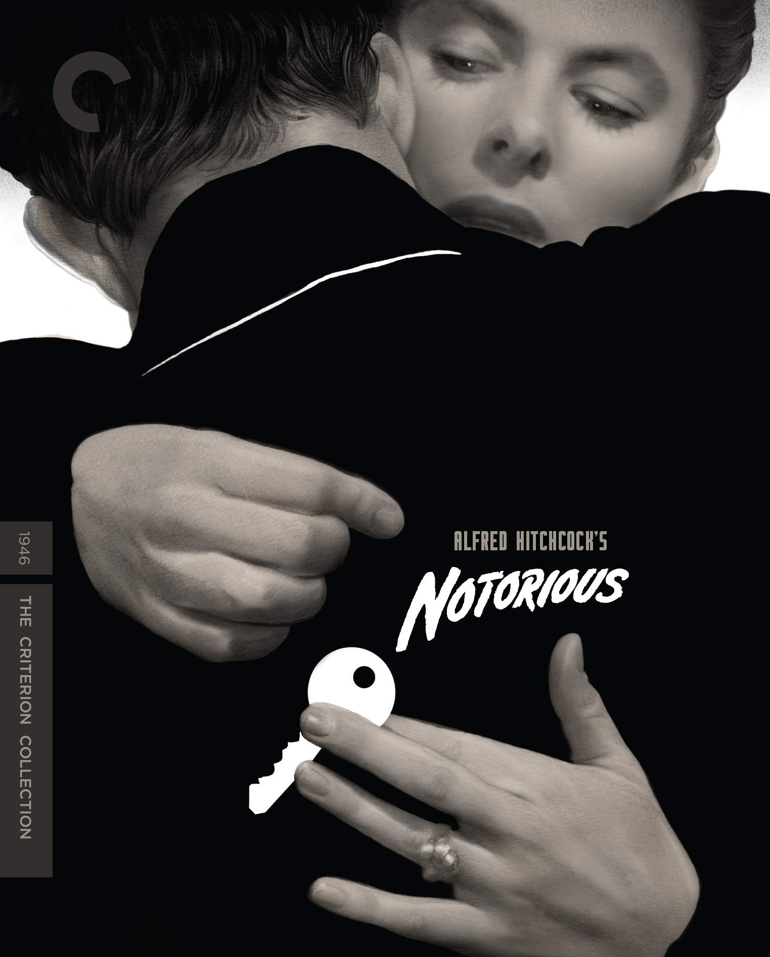 Blu-ray : Notorious (criterion Collection) (4K Mastering, Restored, Special Edition, Widescreen, Mono Sound)