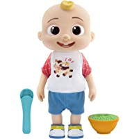 Deluxe Interactive JJ Doll - Includes JJ, Shirt, Shorts, Pair of Shoes, Bowl of Peas, Spoon- Toys for Preschoolers…