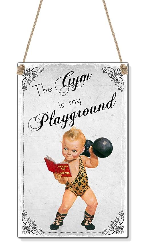 Gym Is My Parque Funny Vintage Regalo De Cumpleaños (Tamaño ...