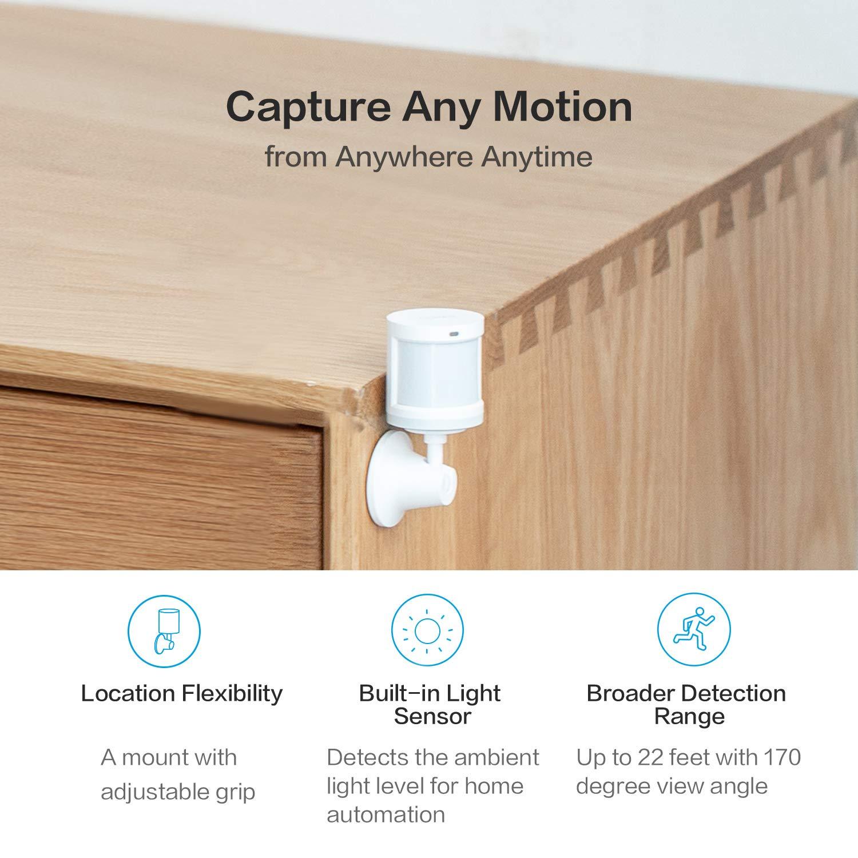 Amazon.com: Aqara Motion Sensor, Wireless Mini Movement ...