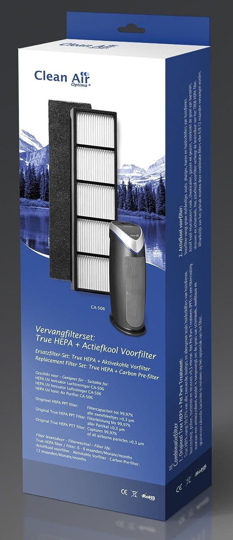 Juego de filtros Clean Air Optima CA-506 HEPA + prefiltro de carb/ón