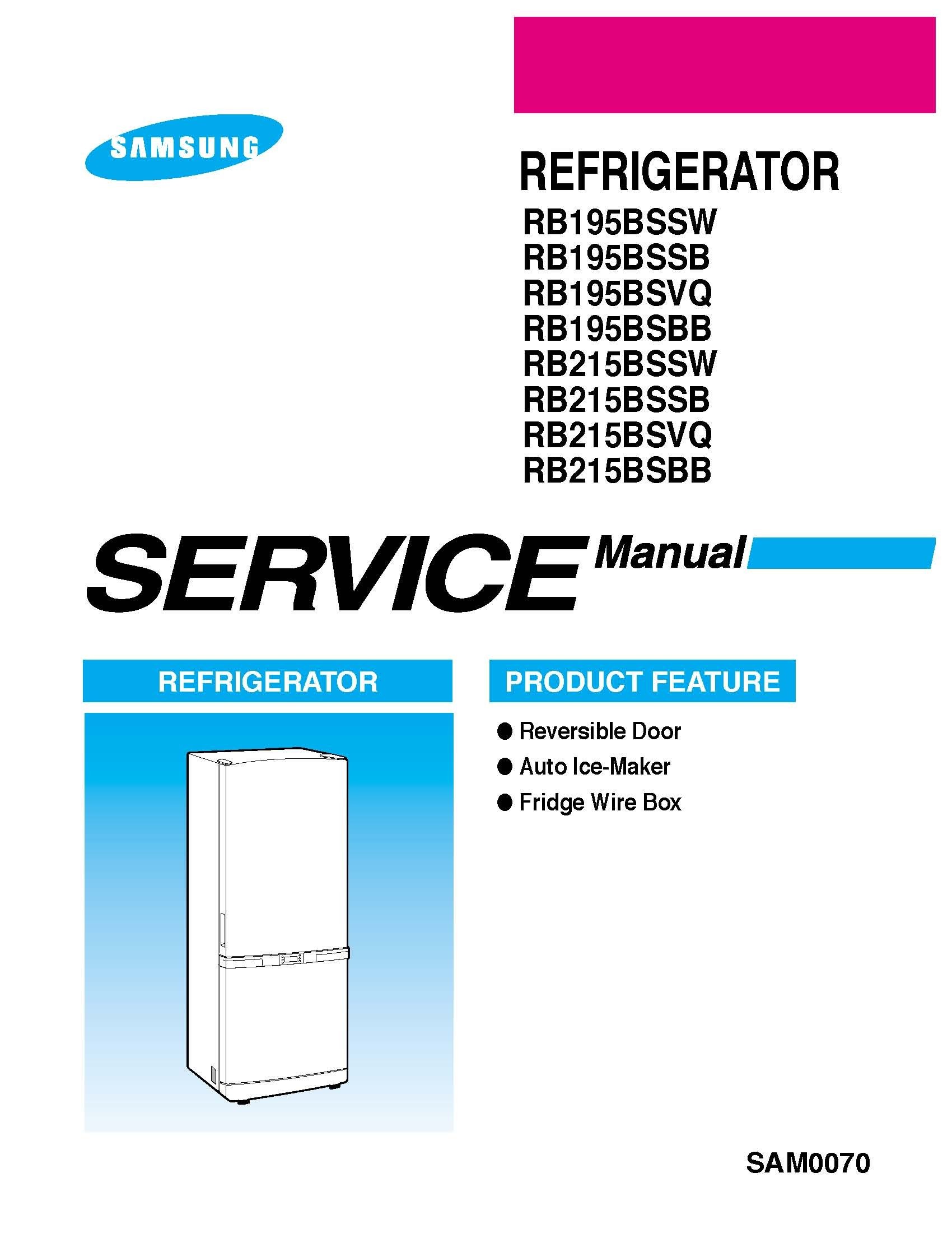 Samsung Rb195bsbb Xaa Service Manual And Rb195bssw Door Swing Diagram Free Download Wiring Diagrams Pictures Books