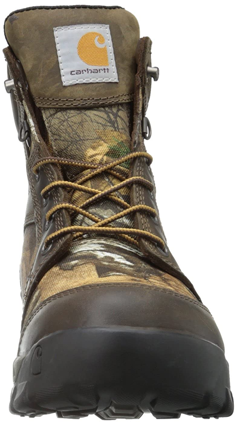 35651aa6f4ac6 Carhartt Men's CMF6175 Soft Toe Boot, Brown Oil Tanned Leather/Realtree  Extra Camo Nylon, 8 W US: Amazon.co.uk: Shoes & Bags