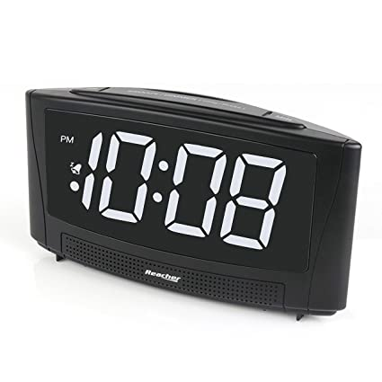 Amazon Com Reacher Digital Alarm Clock With Usb Charger Port 6